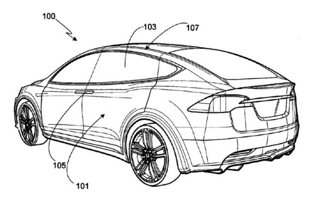 Tesla Patent Drawing