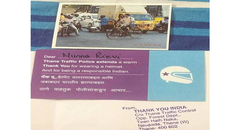 Thane Motorists Get Thank You