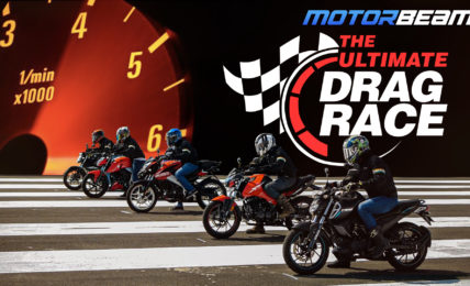 The Ultimate Drag Race - 160cc