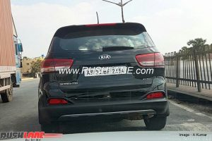 Third-Gen Kia Sorento Spied In India