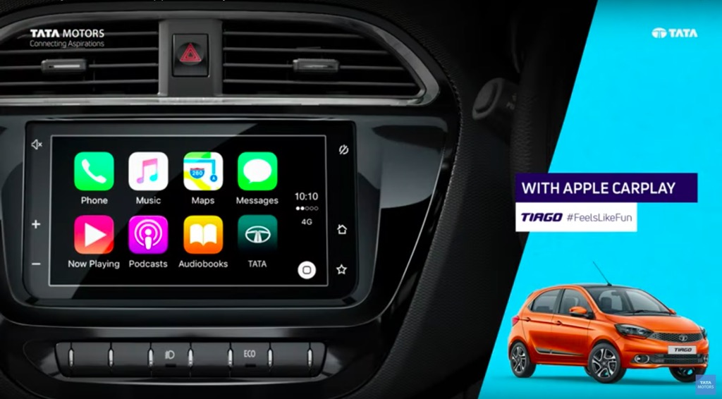 Tiago Apple CarPlay Feature Updated | MotorBeam