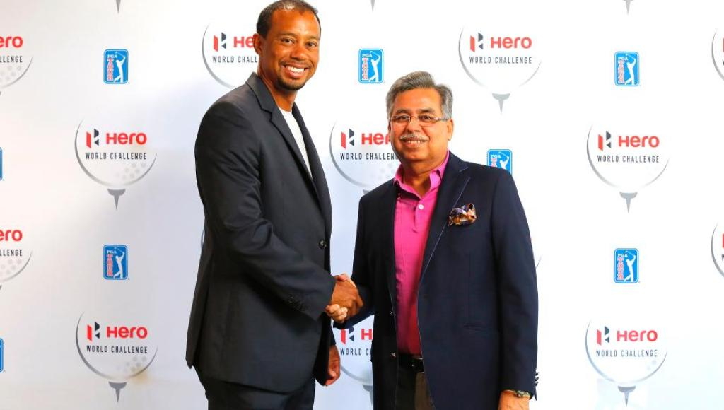 Tiger Woods Hero MotoCorp Global-Brand Ambassador