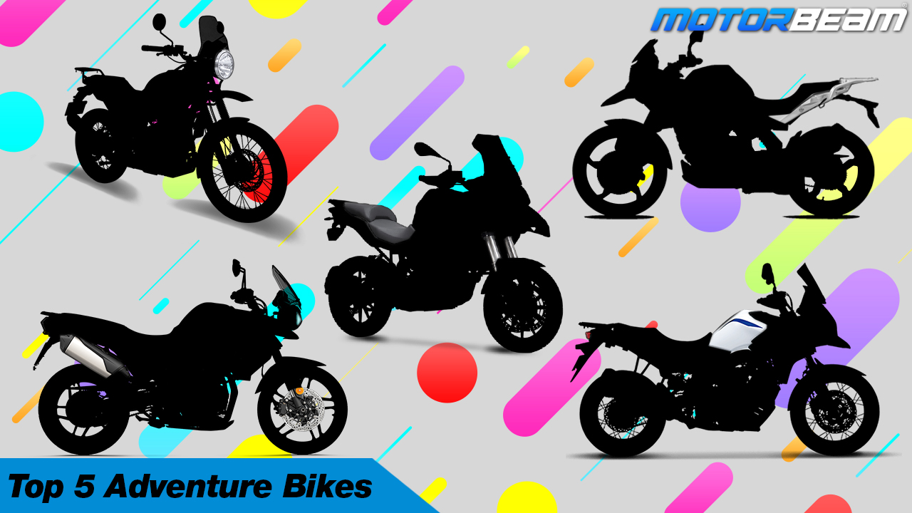 Top 5 Adventure Bikes In India