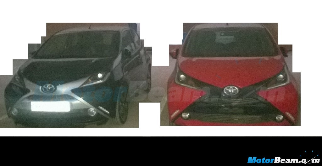 Toyota Aygo Spotted In India