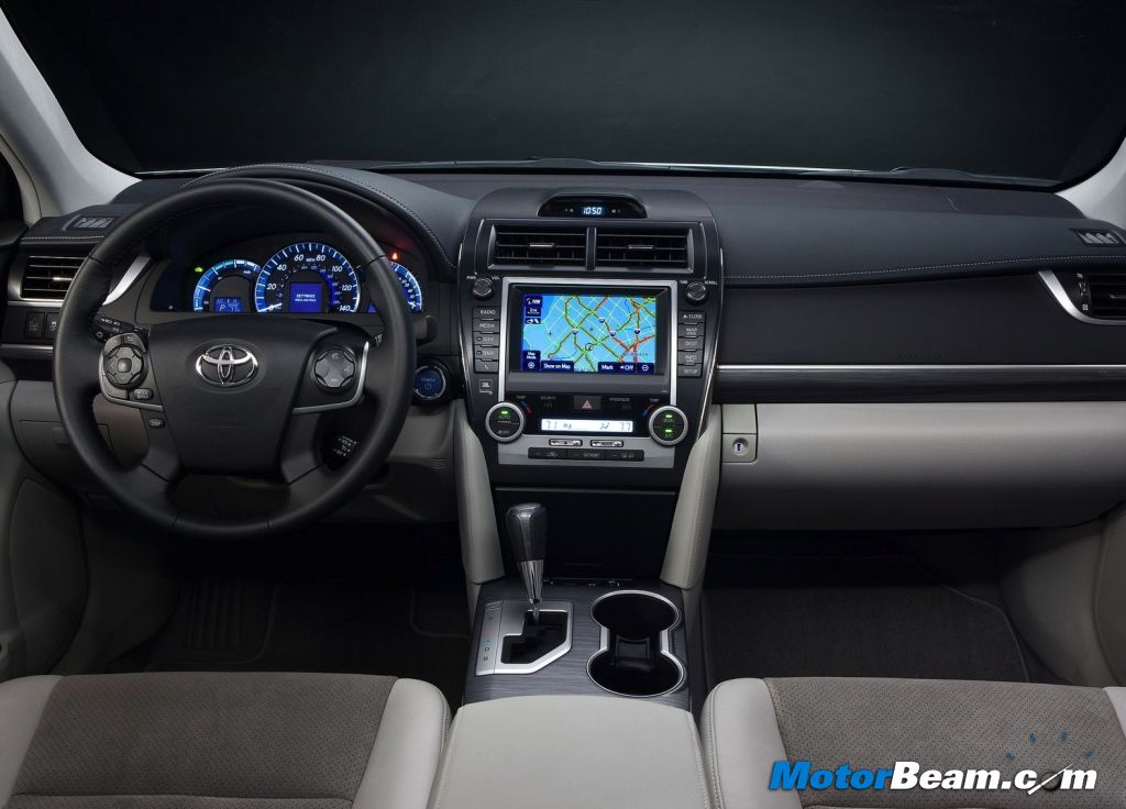 Toyota Camry Hybrid Interiors