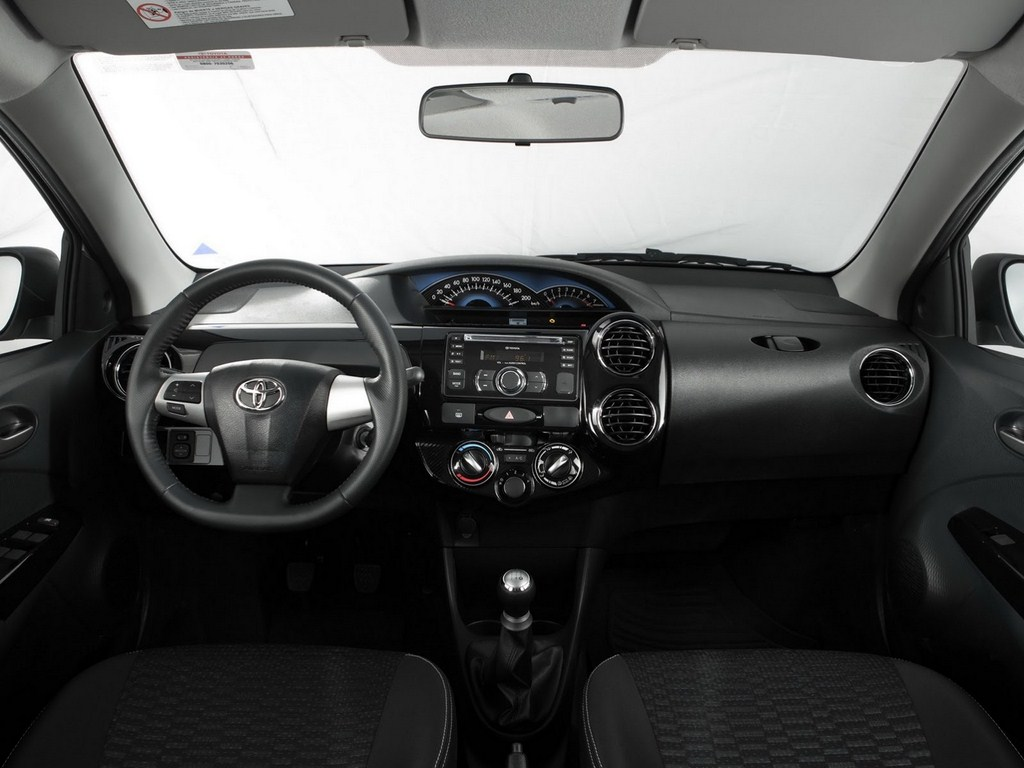 Toyota Etios Cross Interiors
