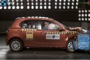 Toyota Etios Liva Global NCAP Crash Tests