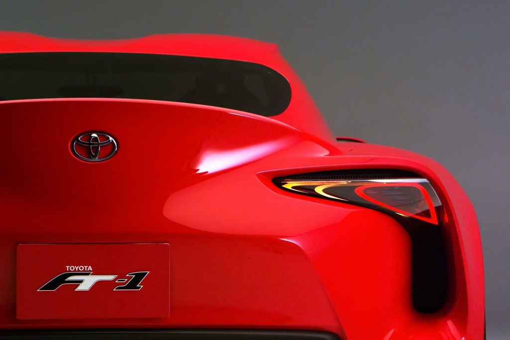 Toyota FT-1 Rear Taillights