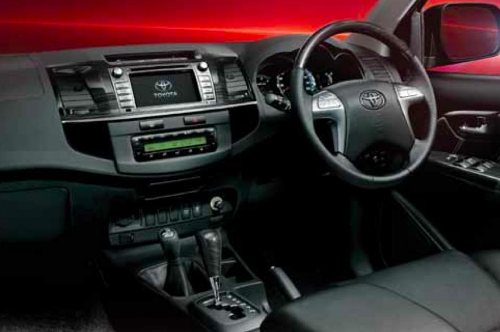 Toyota Fortuner 4x4 Automatic