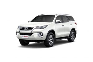 Toyota Fortuner Colours