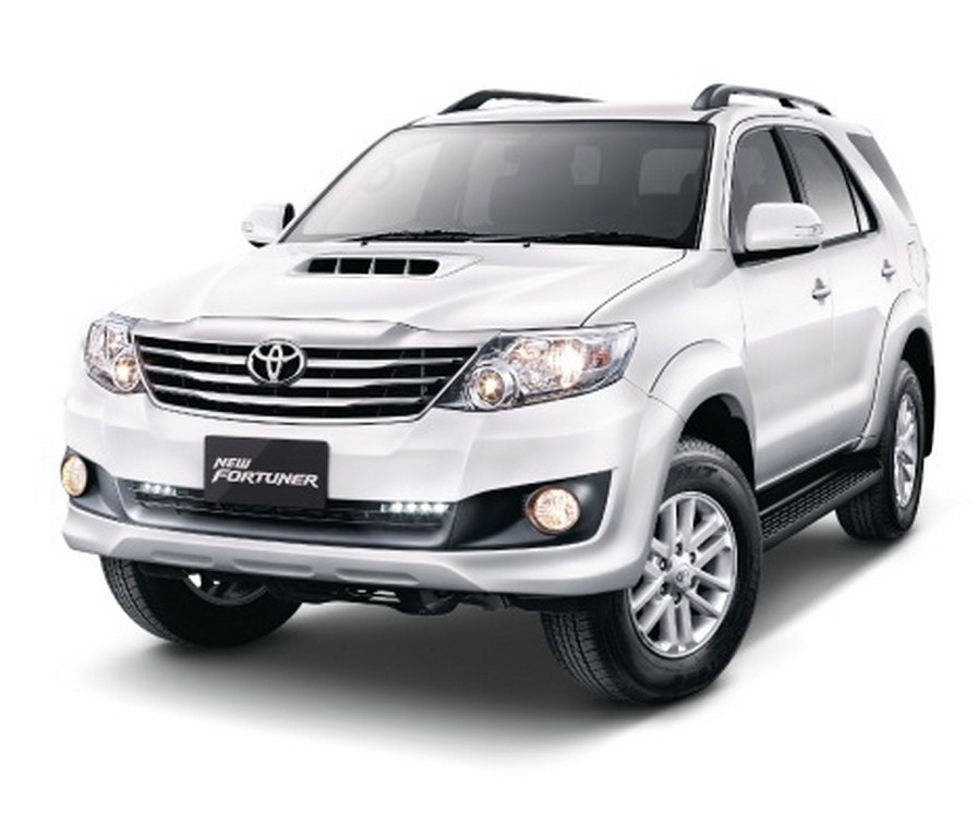 Toyota Fortuner Facelift Indonesia Front
