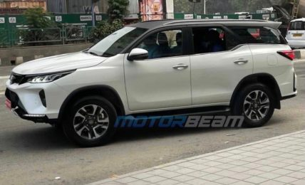 Toyota Fortuner Legender Spotted Side