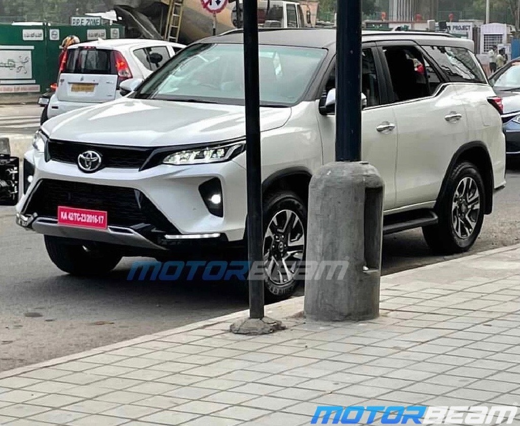 Toyota Fortuner Legender Spotted