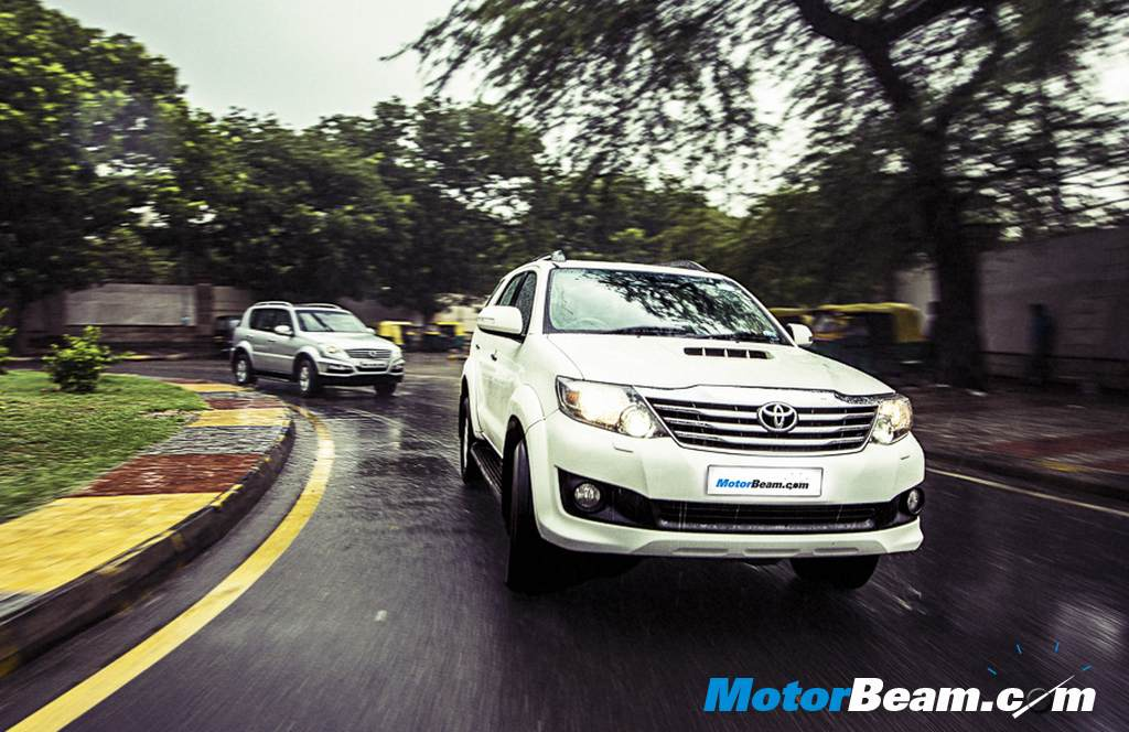 Toyota Fortuner Shootout Tracking