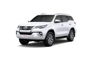 Toyota Fortuner Specifications