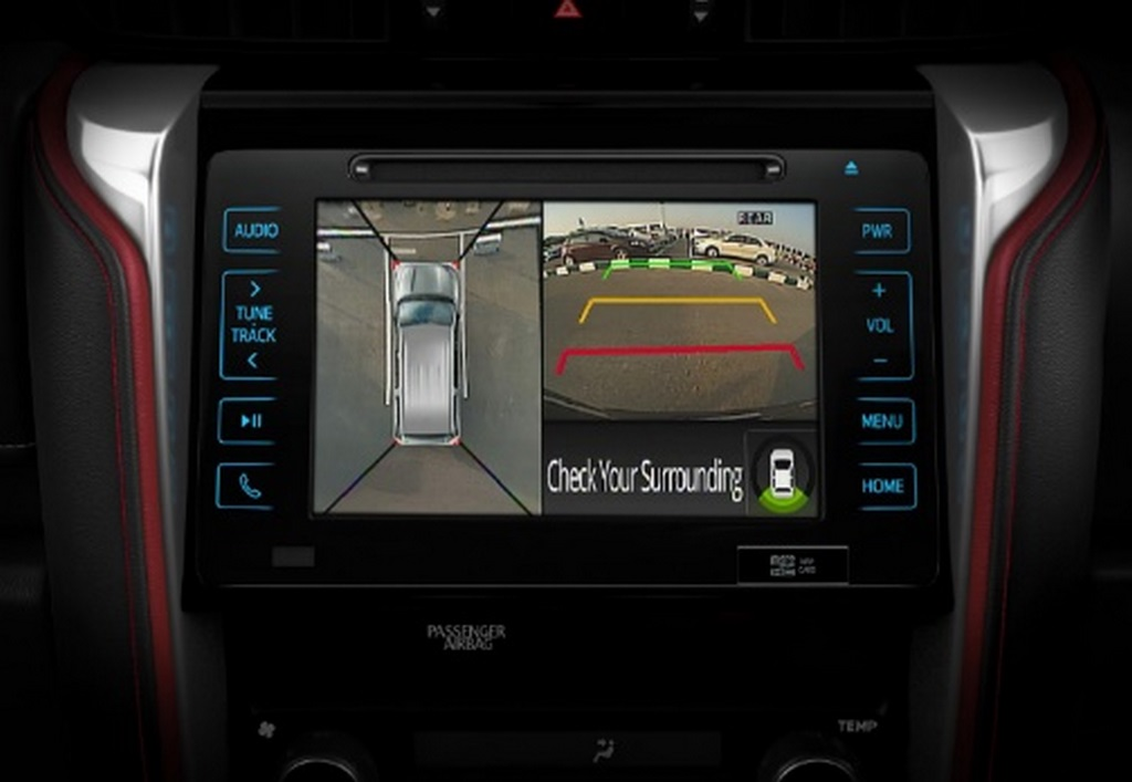 Toyota Fortuner TRD Limited Edition Camera Monitor