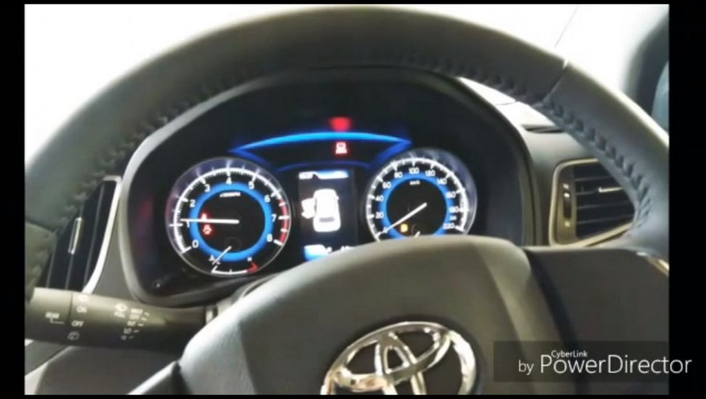Toyota Glanza Instrument Cluster