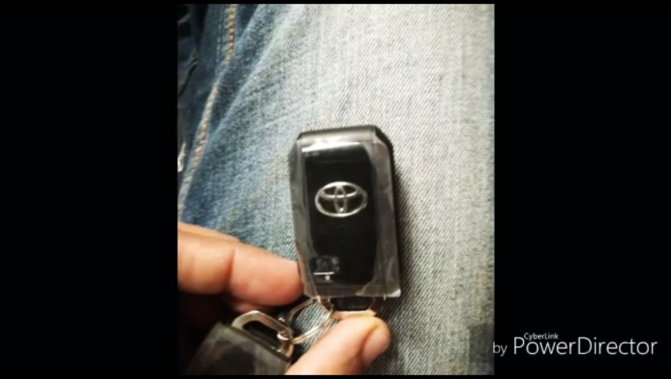 Toyota Glanza Key