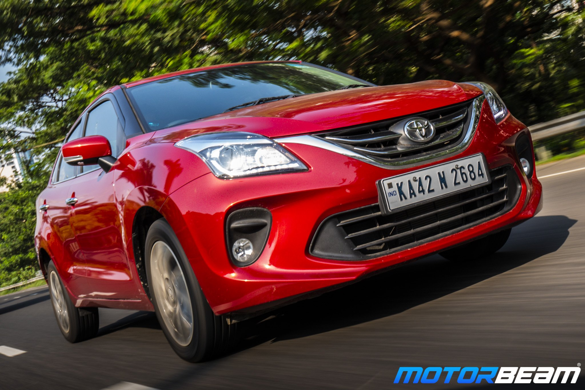 Toyota Glanza Review Test Drive