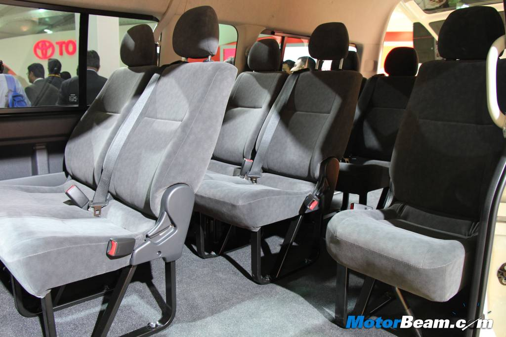 Toyota Hiace 10 Seater India Launch Confirmed For 2015