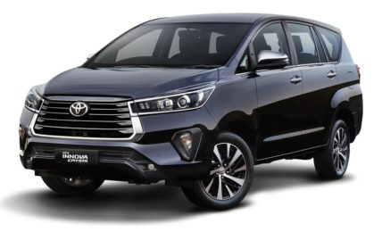 Toyota Innova Crysta Facelift Price
