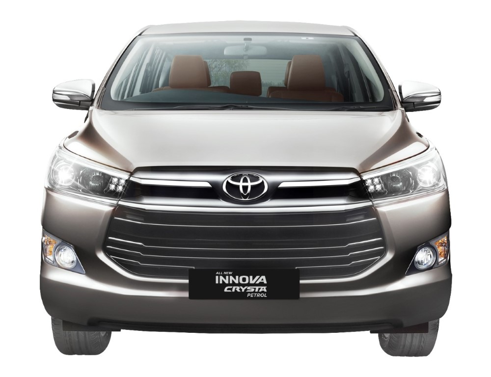 Toyota Innova Crysta Petrol Launch