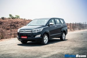 Toyota Innova Crysta Road Test