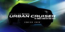 Toyota Urban Cruiser Teased