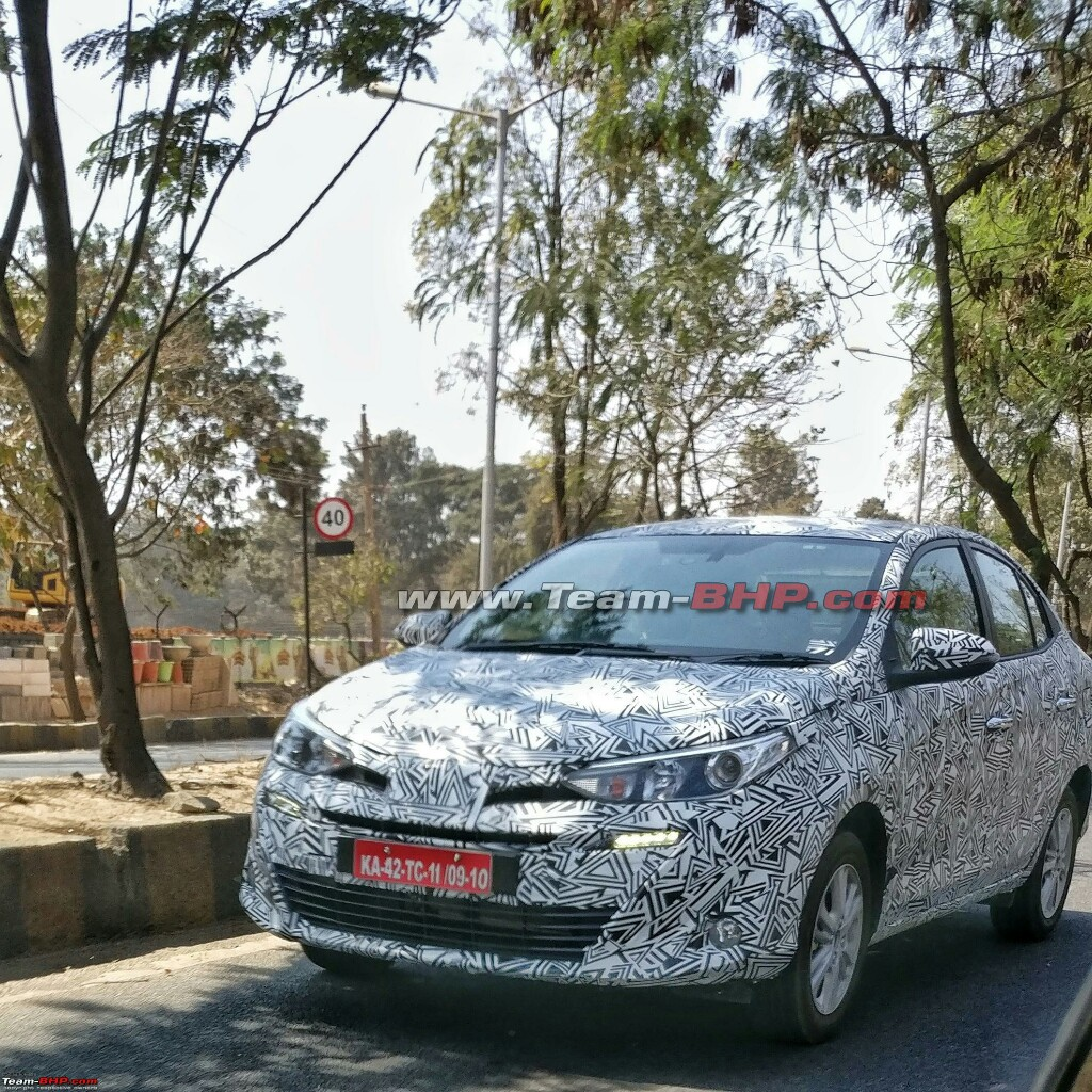 Toyota Yaris ATIV Spotted Testing