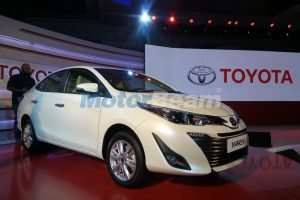 Toyota Yaris India Launch