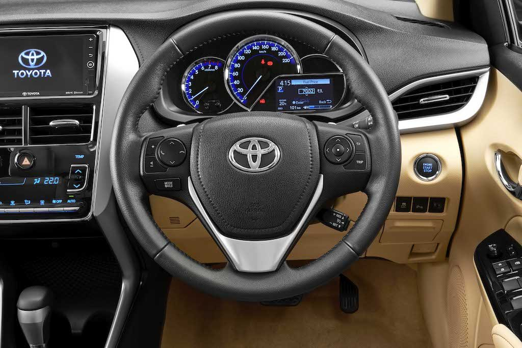 Toyota Yaris Leather Steering