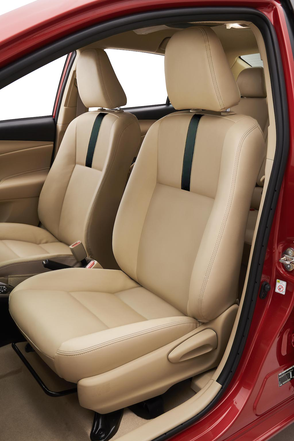 Toyota Yaris Leatherette Seats