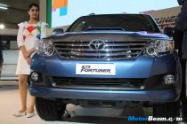 Toyota Fortuner 2012 Launch