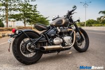 Triumph Bonneville Bobber Review Road Test