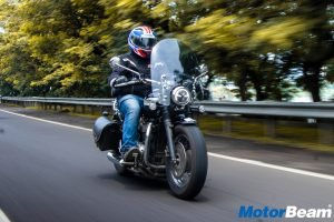 Triumph Bonneville Speedmaster Report Test Ride
