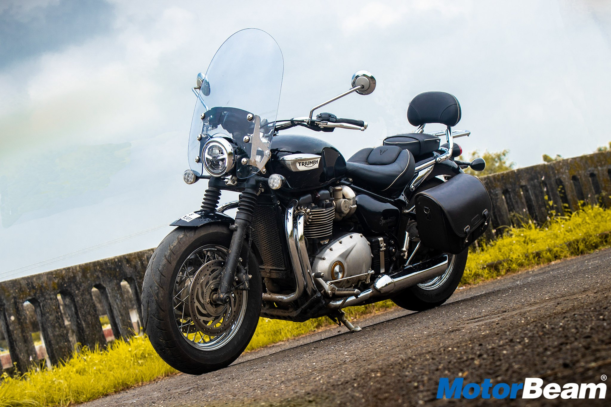 Triumph Bonneville Speedmaster Review Test Ride Motorbeam