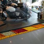 Triumph Dealership Pune Display Area