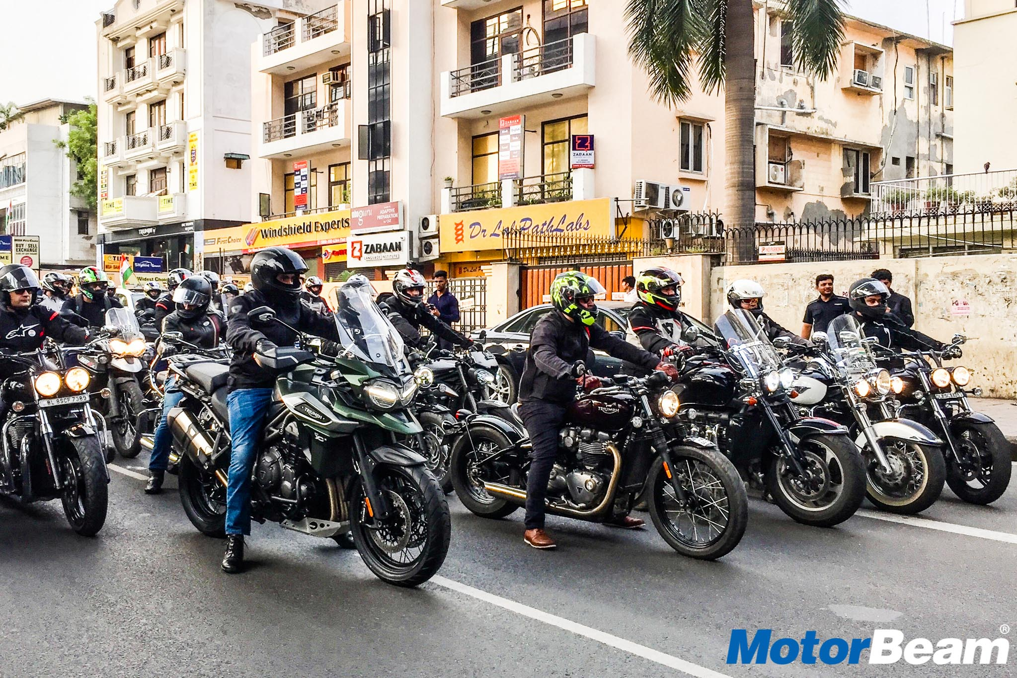 Triumph Independence Day Ride 1