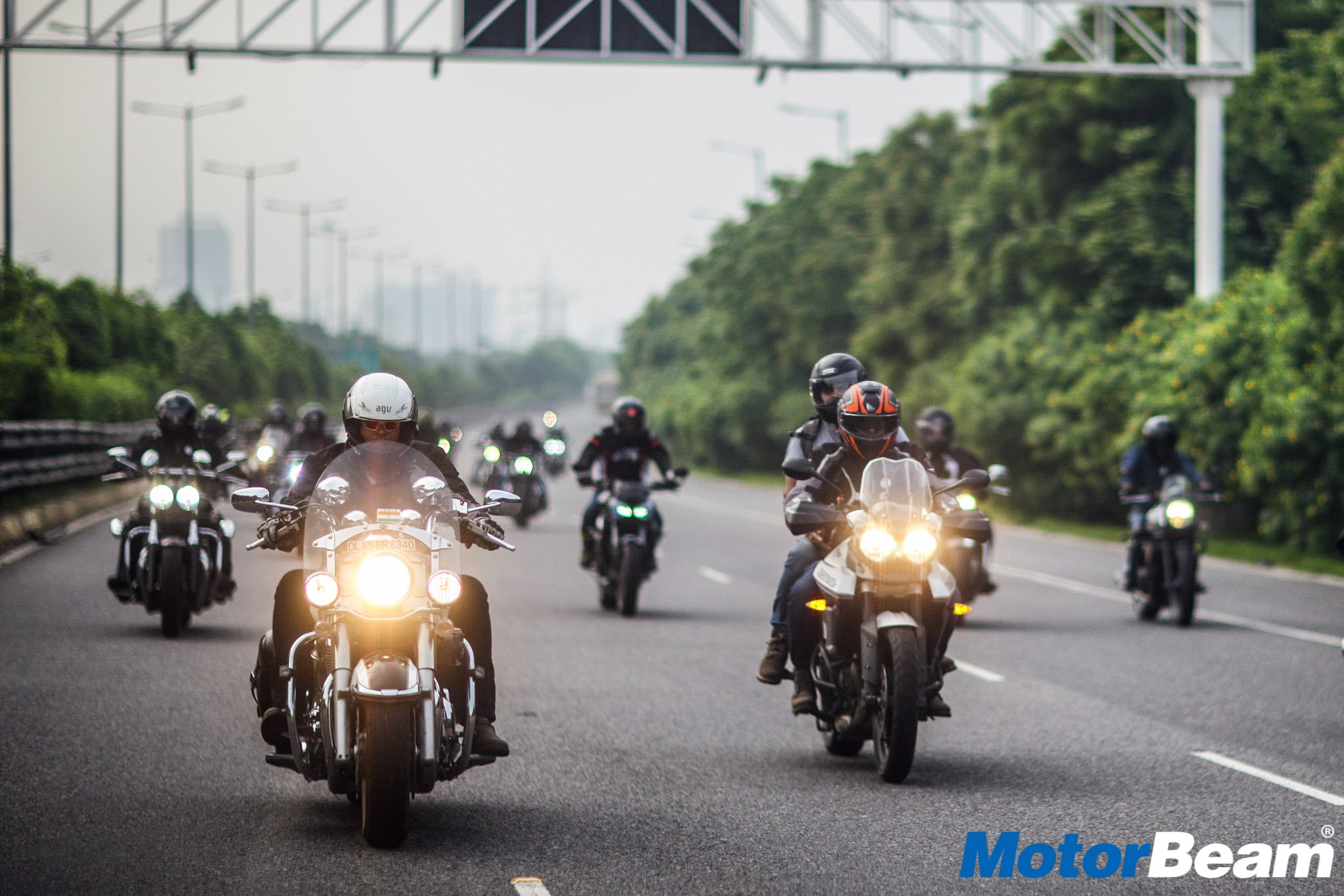 Triumph Independence Day Ride 2