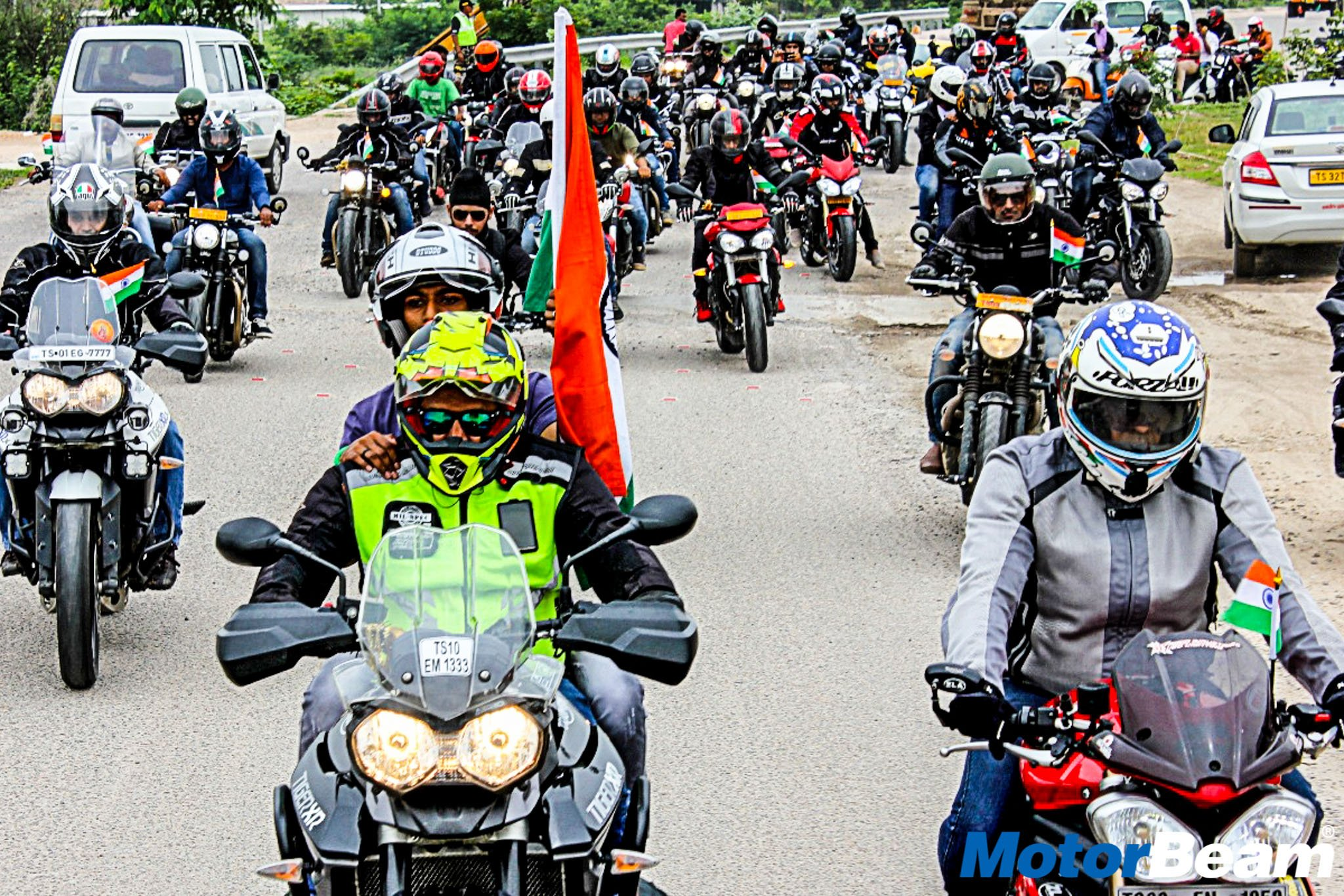 Triumph Independence Day Ride 5