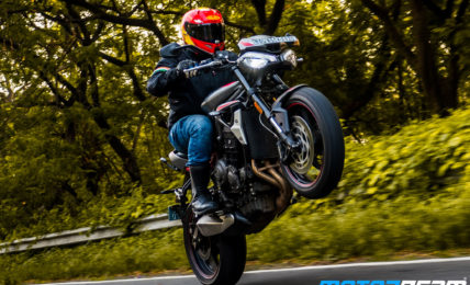 Triumph Street Triple R Video Review