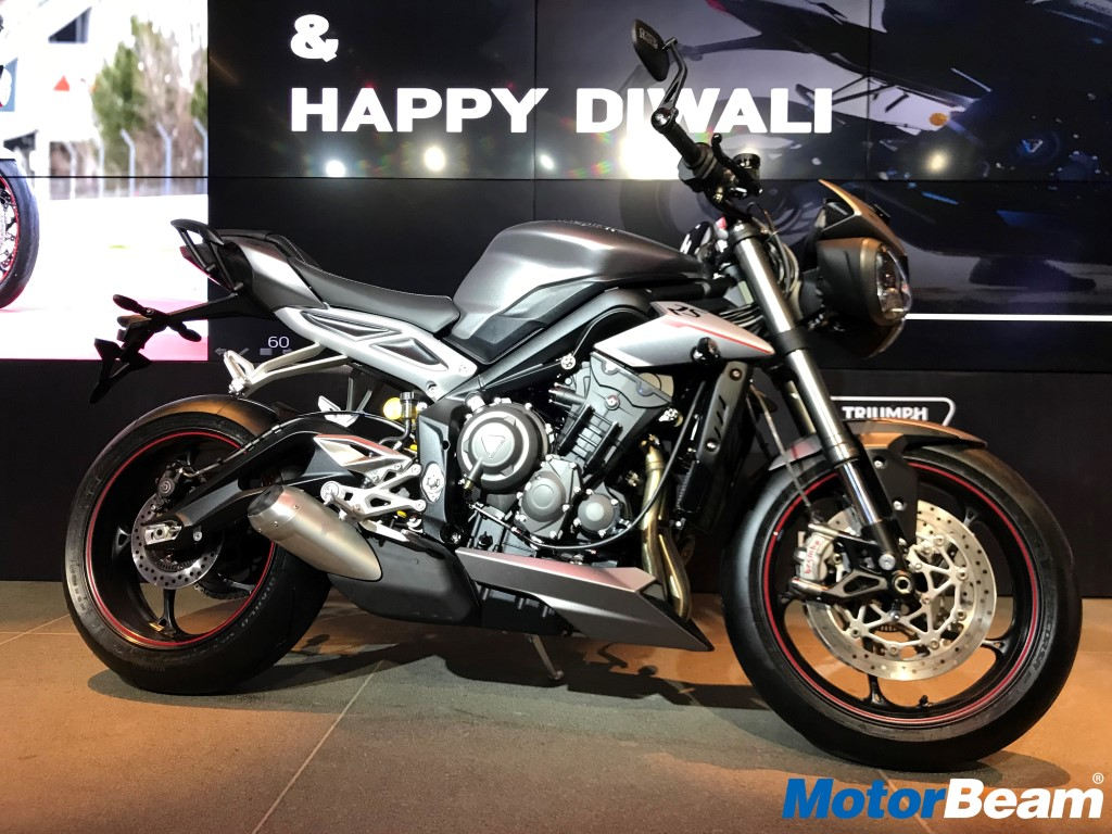 Triumph Street Triple Rs Price Is Rs 1055 Lakhs Motorbeam