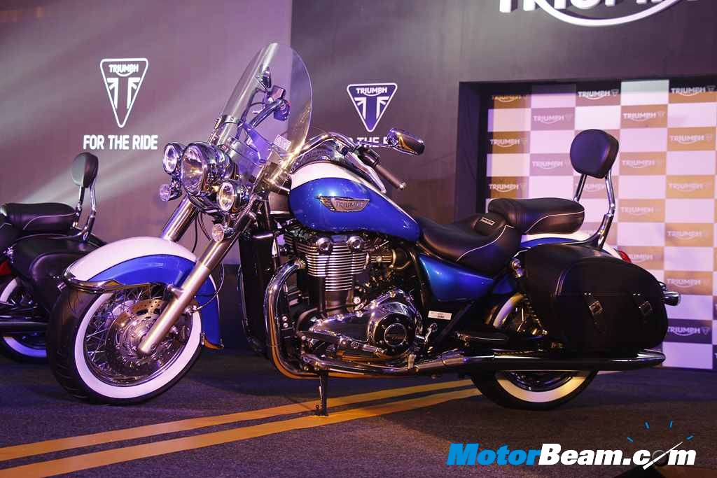 Triumph Thunderbird Lt Launched In India Priced At Rs 1575 Lakhs