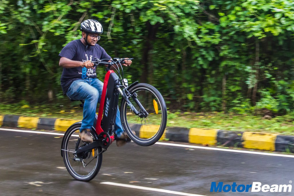 Tron-X One Bicycle Road Test