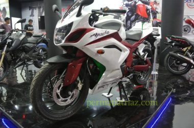 Full-Faired TVS Apache 200 Spotted In Indonesia