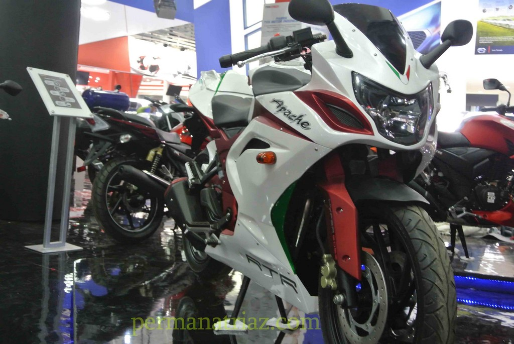 TVS Apache 200 Faired Front