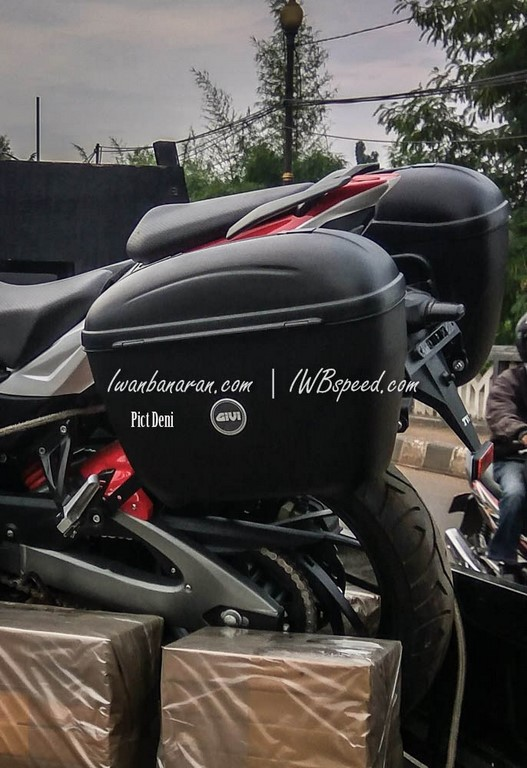 Tvs Apache 200 Tourer Rear