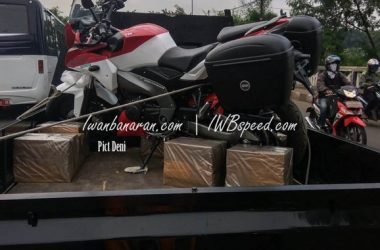 TVS Apache 200 Adventure Tourer Spotted In Indonesia
