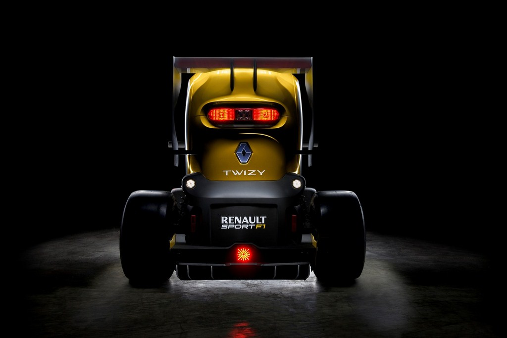 Twizy Renault Sport F1 Concept Rear