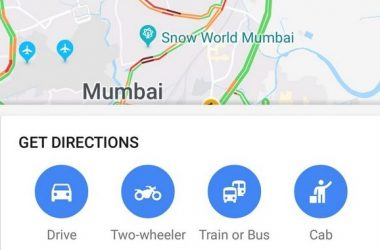 Google Maps Two-Wheeler Mode Launched In India